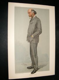 Vanity Fair Print 1904 O. J. lodge